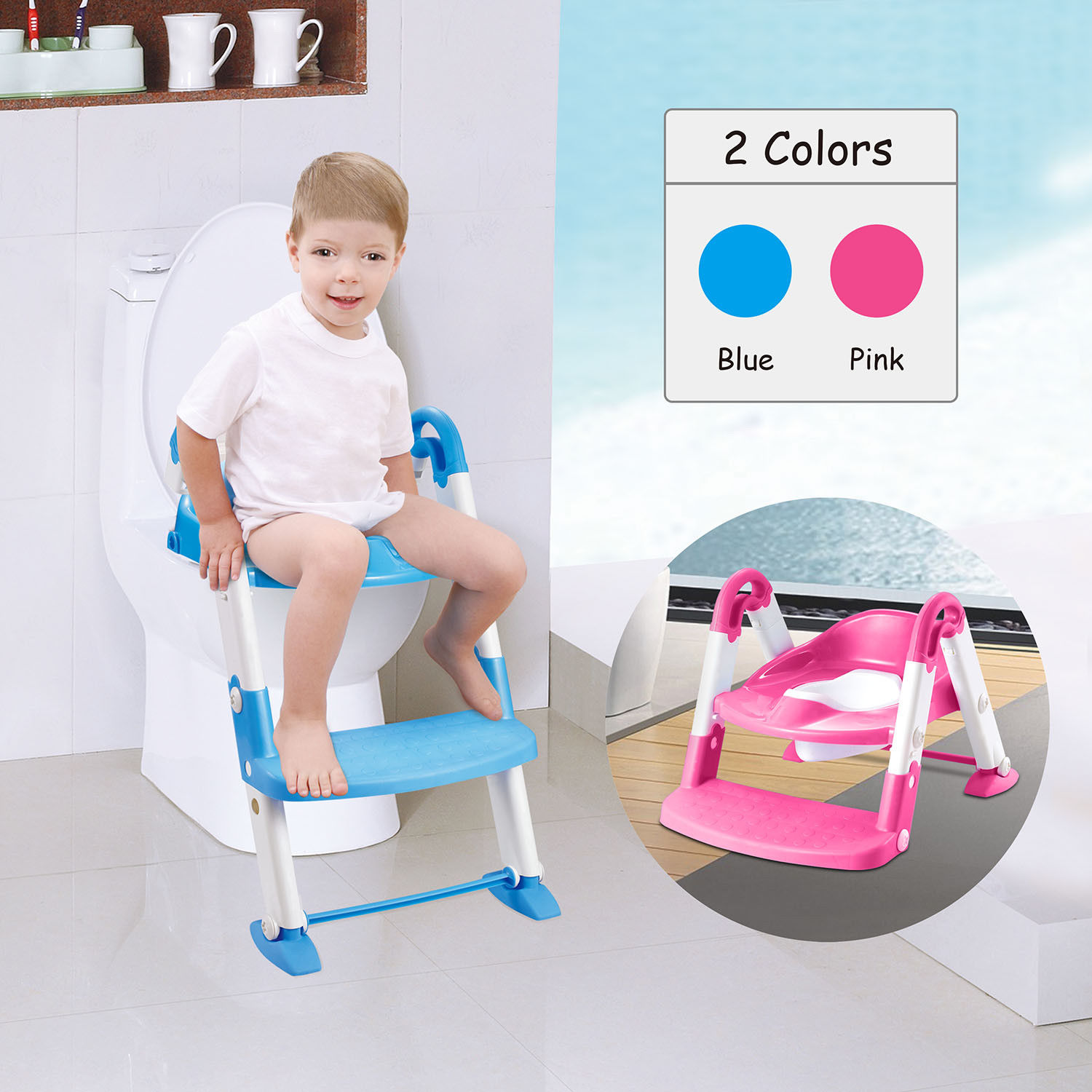 Toilet Seat For Disabled Child